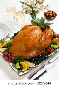Whole Roasted Holiday Turkey
