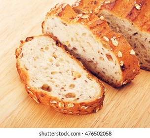 Wholegrain Bread With Oats And Nuts