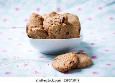 wholegrain cookies with amaranth