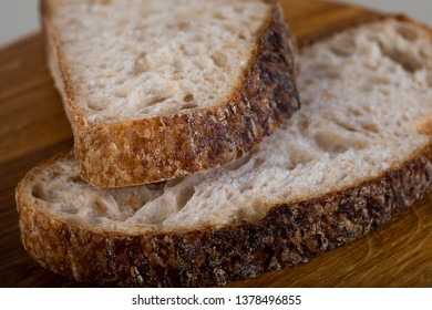 Wholewheat bread on wooden cutting board