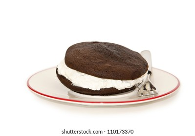 Whoopie pie chocolate cake