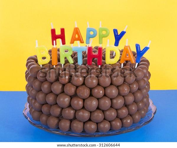Cool Whopper Chocolate Birthday Cake Decorated Candy Stock Photo Edit Personalised Birthday Cards Akebfashionlily Jamesorg