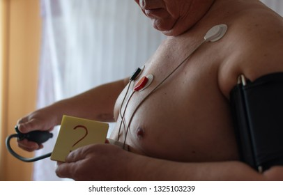 Why does pressure increase? ECG according to Holter.
