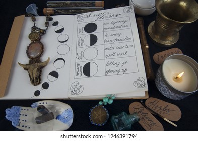 Wicca Books Images, Stock Photos & Vectors | Shutterstock