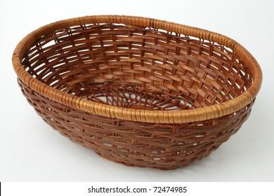Wicker basket.