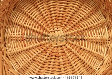 b3a7d50ce8316 Wicker Basket Structure Texture Stock Photo (Edit Now) 469676948 ...