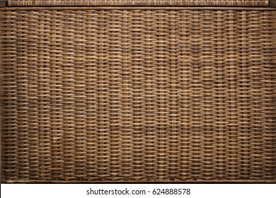 Wicker basket texture. Background