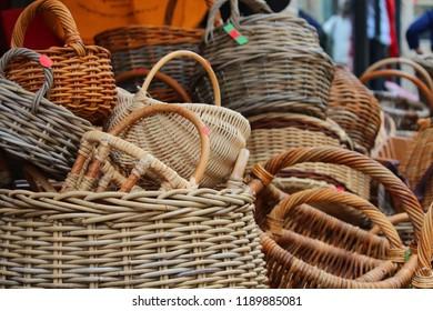 wicker baskets for sale