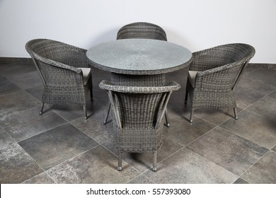 Enjoyable Cane Cafe Furniture Stock Photos Images Photography Creativecarmelina Interior Chair Design Creativecarmelinacom