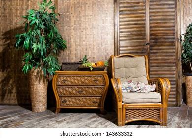 wicker furniture  wicker furniture interior room
