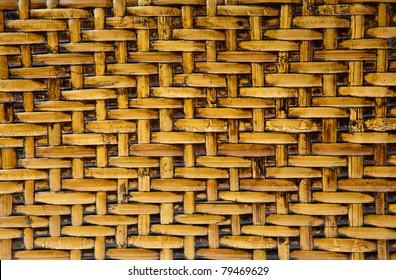 Wicker wood pattern background