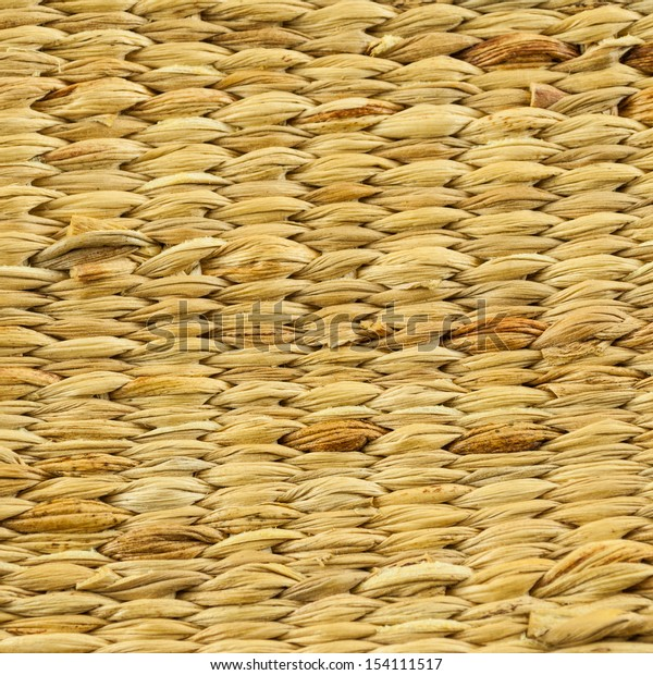 Wicker wood pattern background - bamboo texture background