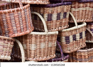 wickerwork handbasket.South Africa