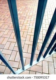 Wicket door made of iron. Metal grating. Paving. Cobbles. & Door Grate Images Stock Photos \u0026 Vectors | Shutterstock