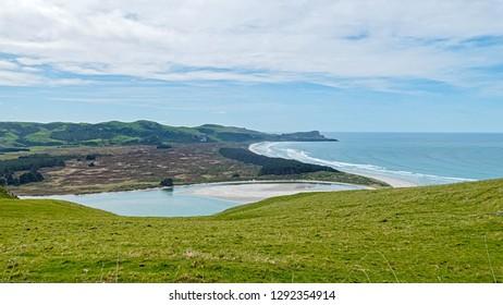 Wickliffe Bay, Victory Beach, Otago Peninsula, NZ.
