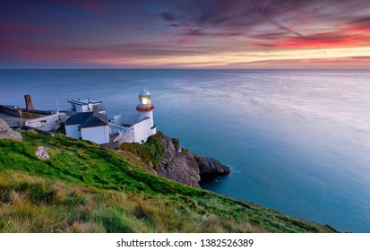 Wicklow Head Lighthouse has safeguarded the scenic Wicklow coastline since 1781. It is a peace seeker's haven with inspiring and refreshing views of the Irish Sea. The landscape and scenery surroundin