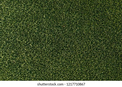 Wide Angle Artificial Green Grass Background Texture