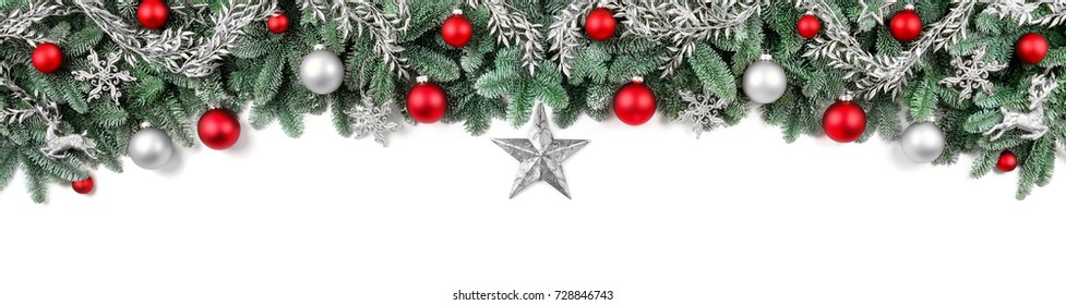 Christmas Garland Frame Stock Photos Images Photography