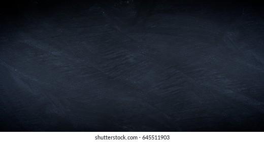 wide blackboard slate stone empty blank texture business background pattern
