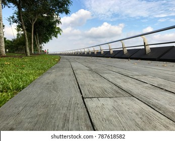 wide board walk, punggol, singapore