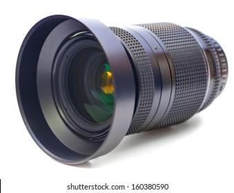 Wide camera lens