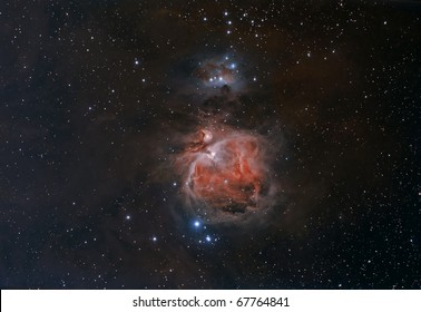 Wide Field View of the Orion Nebula