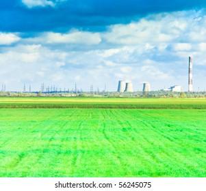 Wide Green Plain