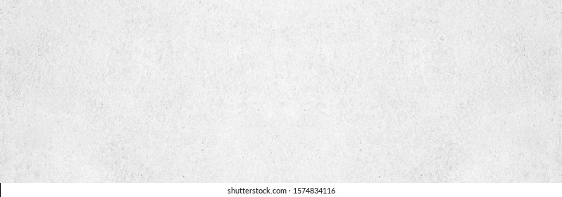 Wide grey paint limestone wall texture background in white light seamless. Panorama gray cement marble table top floor view concept smooth granite quarry stucco surface bacground grunge pattern.