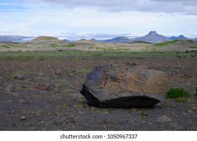 Wide Icelandic landscape