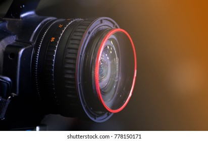 Wide lens for video camera