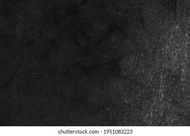 Wide old black wood chalkboard food bg background texture in college concept back to school classroom wallpaper for Black Friday bacground dust white chalk grunge. black stone cement wall blackboard. - Shutterstock ID 1951083223