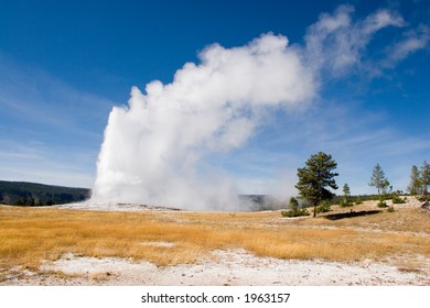 Wide Old Faithful