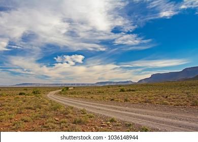 Wide open Karoo landscape