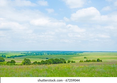 Wide Open Prairie in late spring