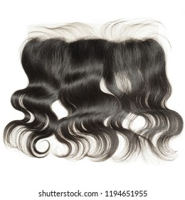wide range body wave wavy black human hair weaves extensions lace frontal