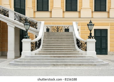 wide stairs