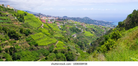 """Wide view from """"Levada do Norte"""", Madeira island, Portugal"""