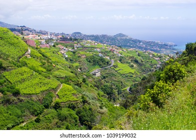"Wide view from ""Levada do Norte"", Madeira island, Portugal"
