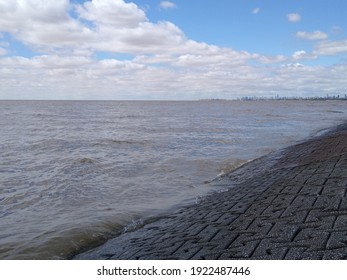 The widest river, and Buenos Aires city.