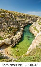 Wied il-Ghasri, Gozo, Malta