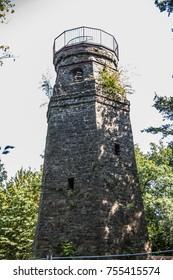 Wiehler Bismark tower in the oberbergischer country