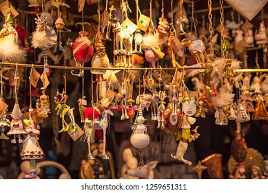 WIEN, AUSTRIA - 7 DECEMBER, 2018: Christmas market in Wien, Austria on 7 December, 2018.
