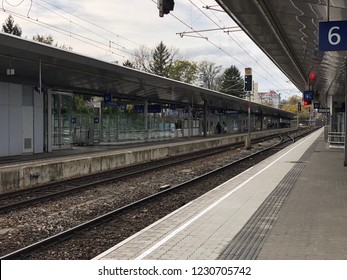 Wien Meidling, Austria - October 19th 2018 - Railway Station Wien Meidling