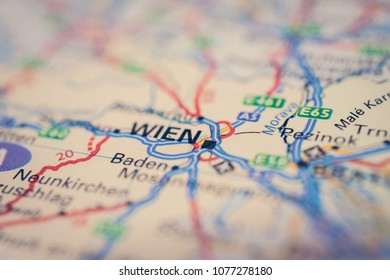 Wien on the map
