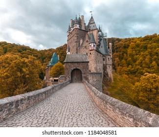 Wierschem, Germany - 19 September, 2017: Burg Eltz Castle.