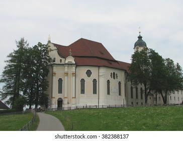 Wieskirche (White Church), Germany - Shutterstock ID 382388137