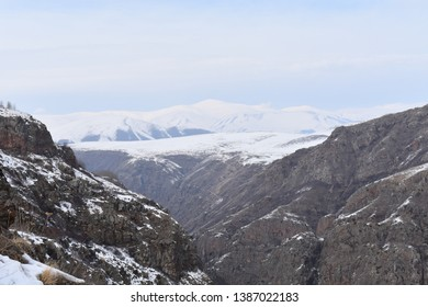 Wiew of mountains in Ardahan Turkey