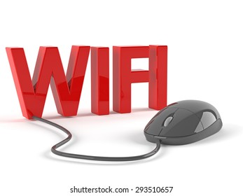 Wifi with mouse