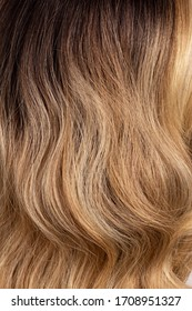 wig long natural curly blonde brown ombre hair texture background