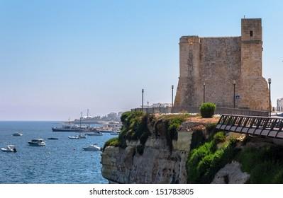 Wignacourt tower in the coast of Malta.